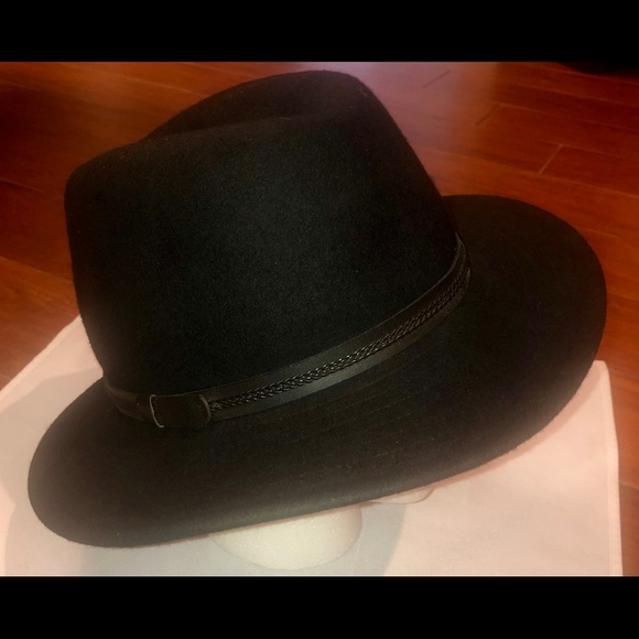 136f5d32 Tilley Accessories | Mens Black Wool Fedora By Montana | Poshmark